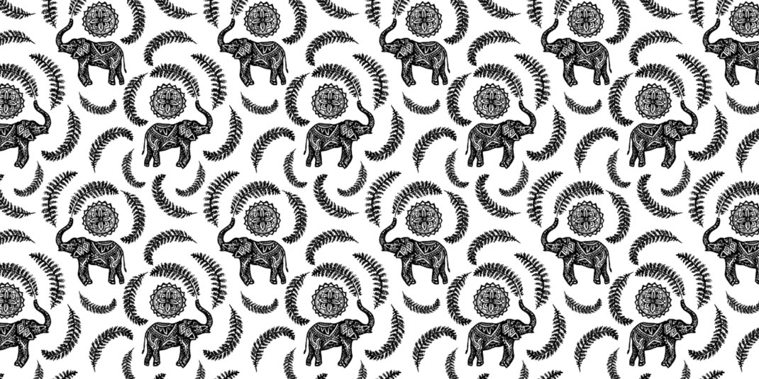 nina georgiev patterndesign elefant