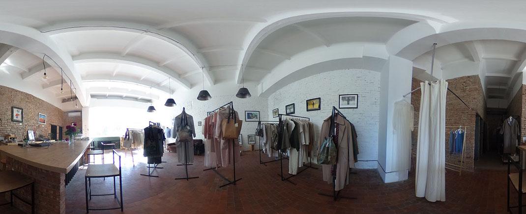 Elena Scutarus Laden liegt mitten im Zentrum Chișinăus. Noch. Foto: Nora Belghaus