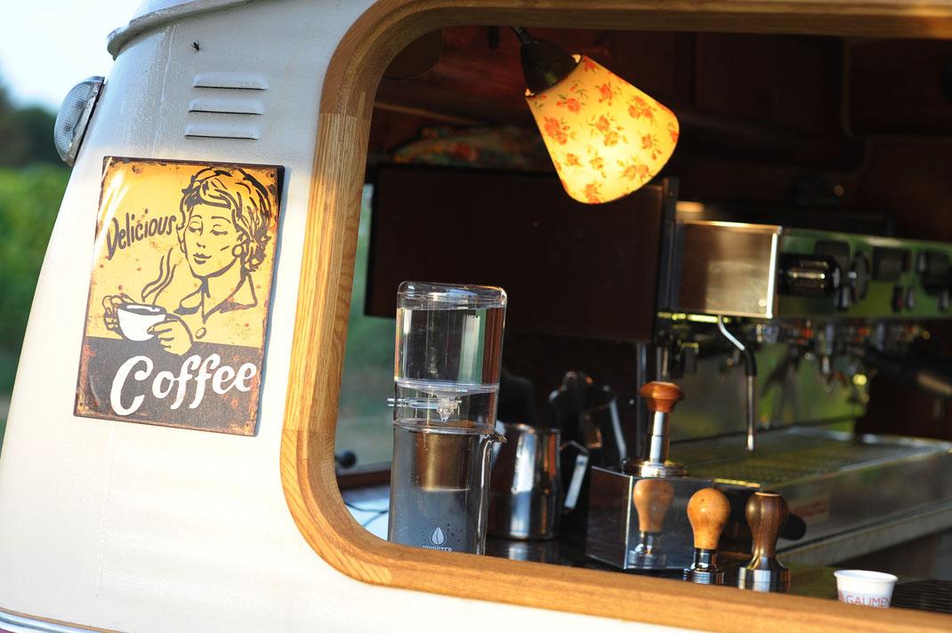 Kaffee Mobil Tafel