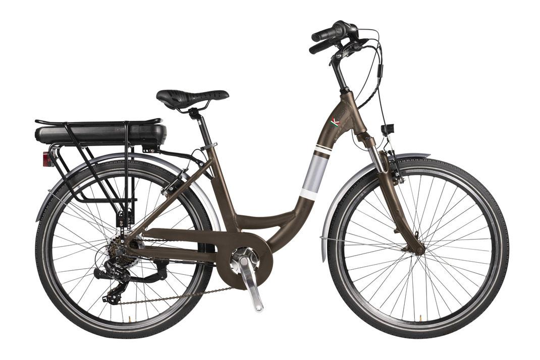 Bici elettrica Pmzero URBAN TOP 04 e bike