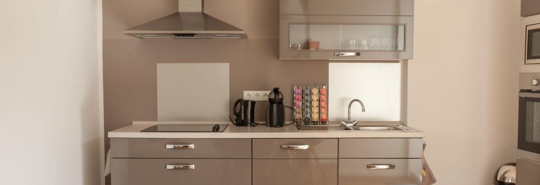 Ferienapartment Schwerin - schöne Küchenzeile
