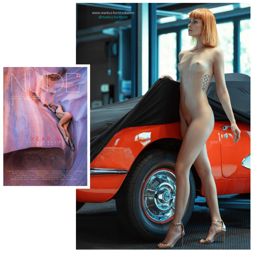 Magazine Numero 22 Year 4 - Anniversary Issue - Markus Hertzsch - Girl - Model - Nude - Magazine - Car