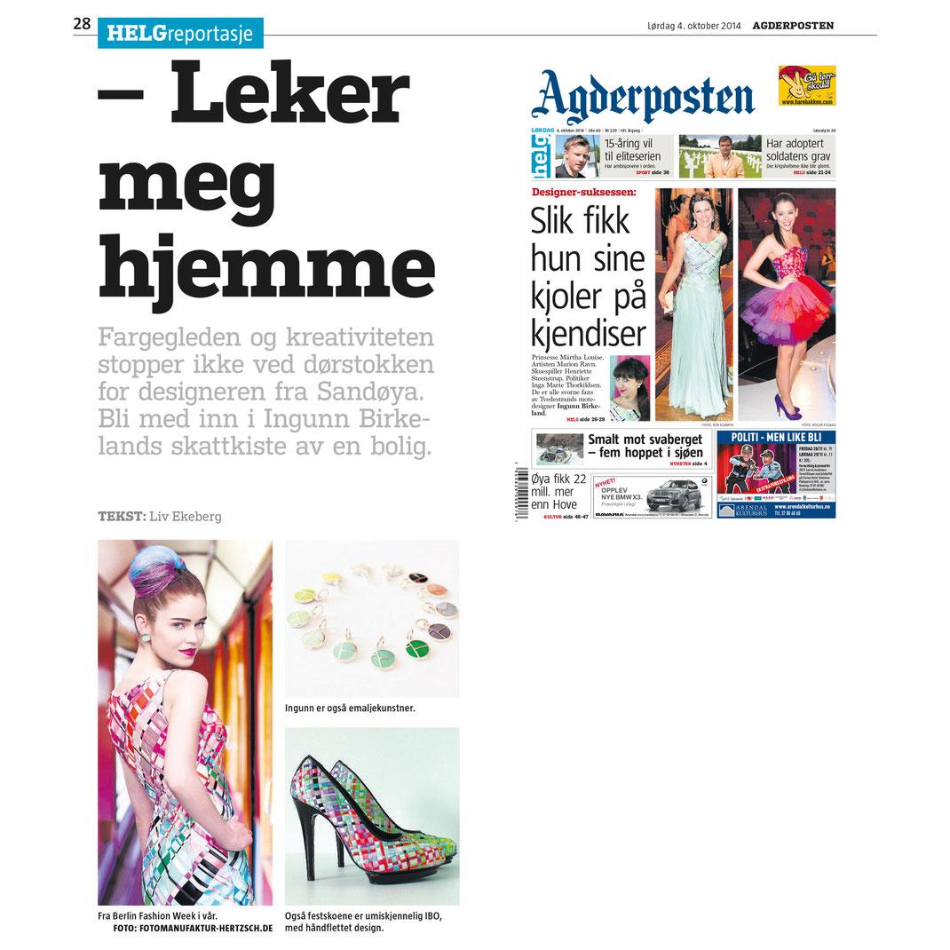 Adgerposten 04 2014 - Markus Hertzsch