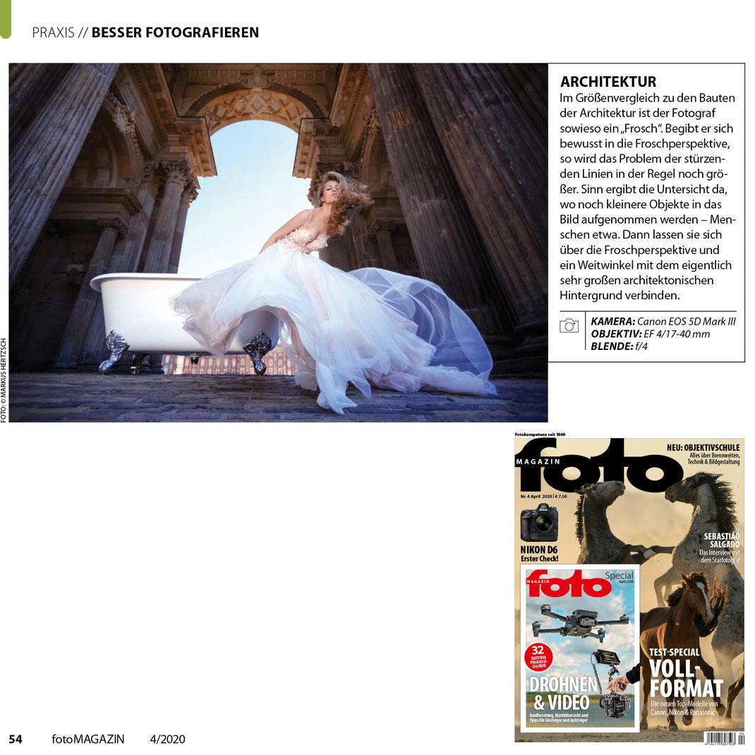fotoMagazin 04 2020 - Markus Hertzsch