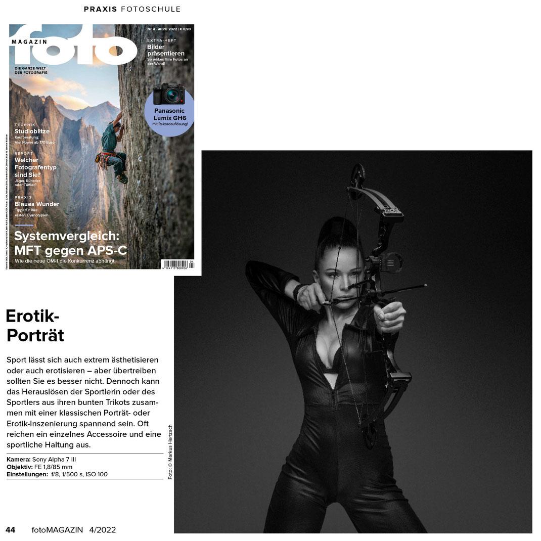 Fotomagazin 10 2021 - Markus Hertzsch - Girl - Model - Autumn - Fashion - Bokeh - Portrait - Petzval - Herbst - Fashion
