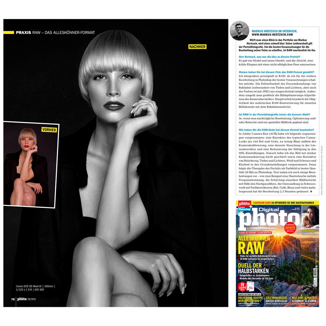 Digitalphoto 09 2019 - Interview - Markus Hertzsch