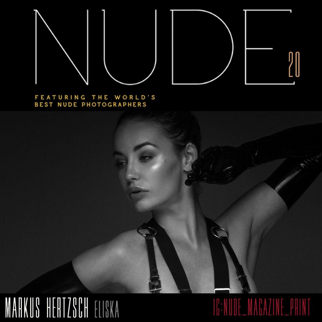 Nude 20 Art Issue - 01 2021 - Markus Hertzsch - Girl - Model - Nude - Magazine