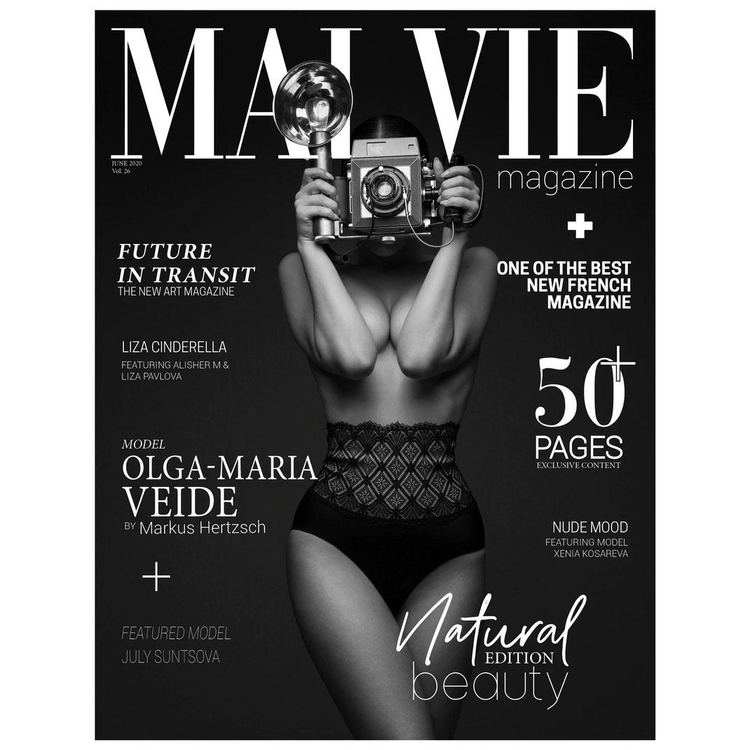 MALVIE Mag - Natural Beauty Edition Vol. 26 JUNE 2020 - Markus Hertzsch