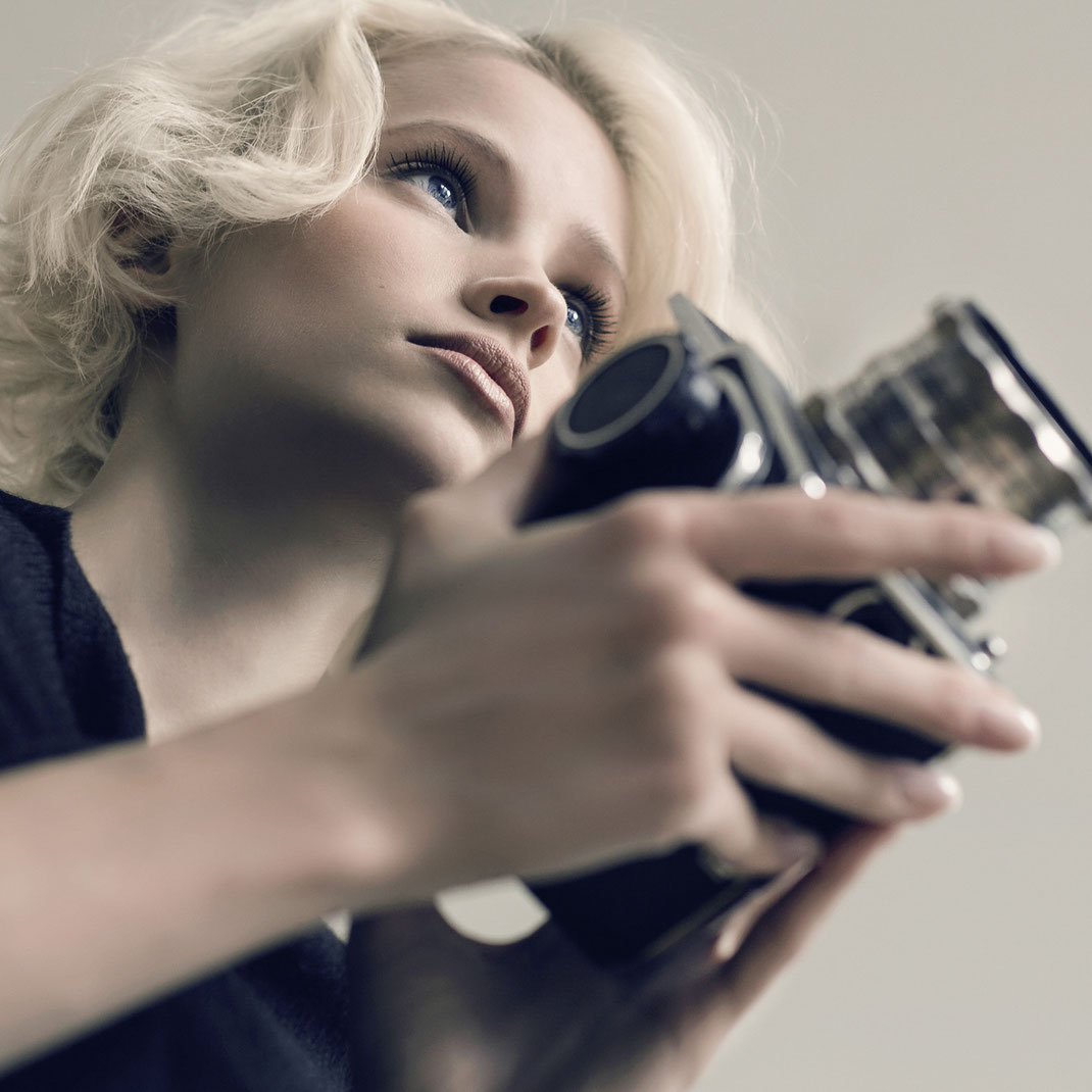 Two Beauties - Jane & Hasselblad 500c