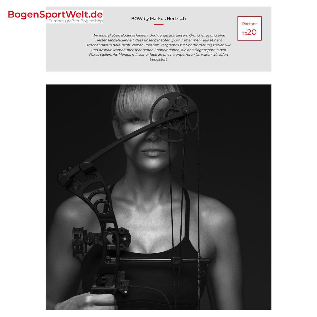 Bogensportwelt.de - Markus Hertzsch - Bow - Series - Model - Archery - Girl - Bow - Arrow