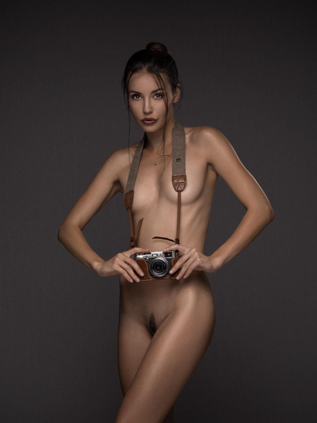 Two Beauties - Eliska & Fuji X100s  - Markus Hertzsch
