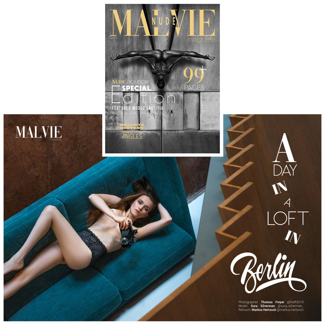 Malvie Magazine Special Edition 04-2020 (Retouch for Thomas Freyer)
