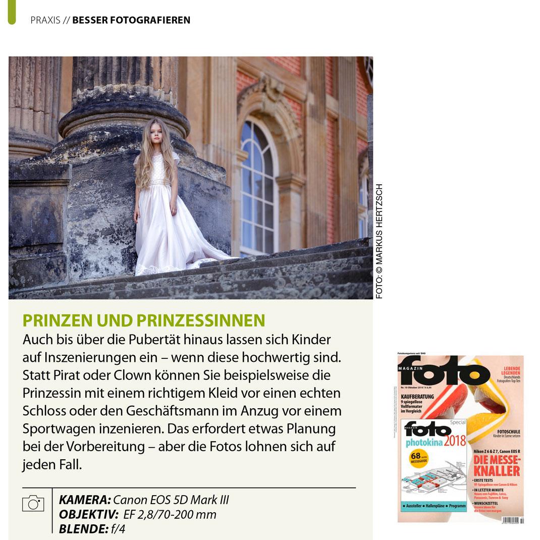 fotoMagazin 10 2018 - Markus Hertzsch