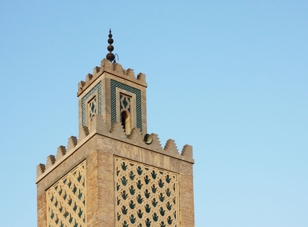 Minaret of the Koutoubia Mosque, Marrakesh