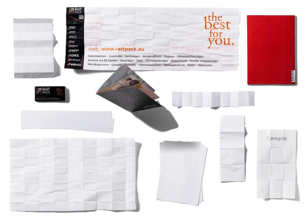Gebrauchsinformationen, Beipacktexte, Mini Broschüren, Booklets, Nassleimetiketten, Skin und Blisterkarten, Drucksorten