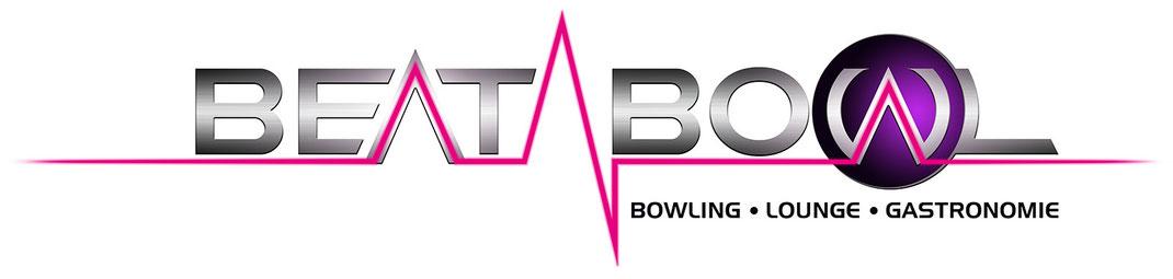 Logogestaltung Bowling-Center Beat Bowl Rundumwerbung Andreas Trump Crailsheim