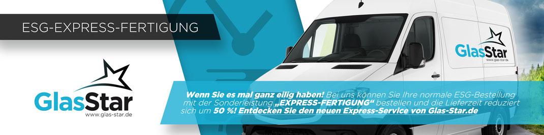 Glas Express-Fertigung
