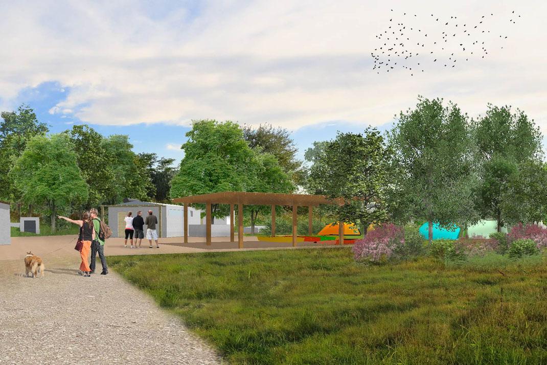 da3studio da3 studio architettura del paesaggio progetto partecipato isola di Campalto isole minori Venezia