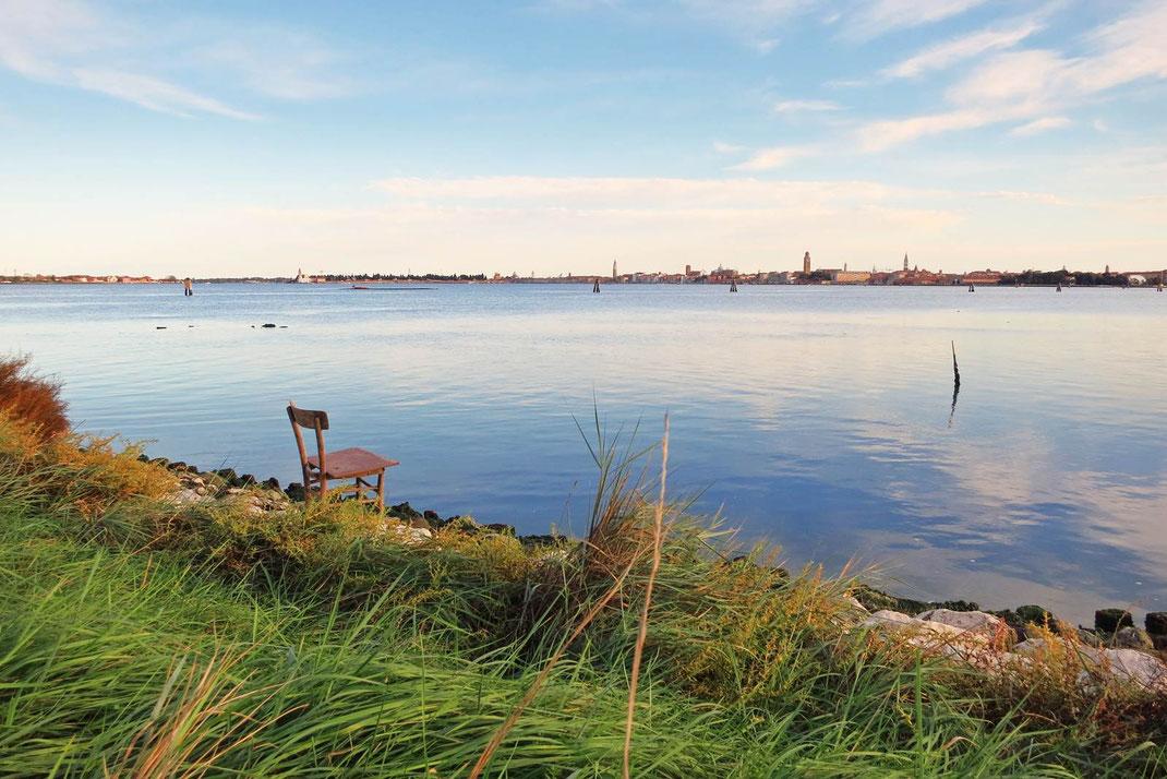 Campalto island Venice Lagoon