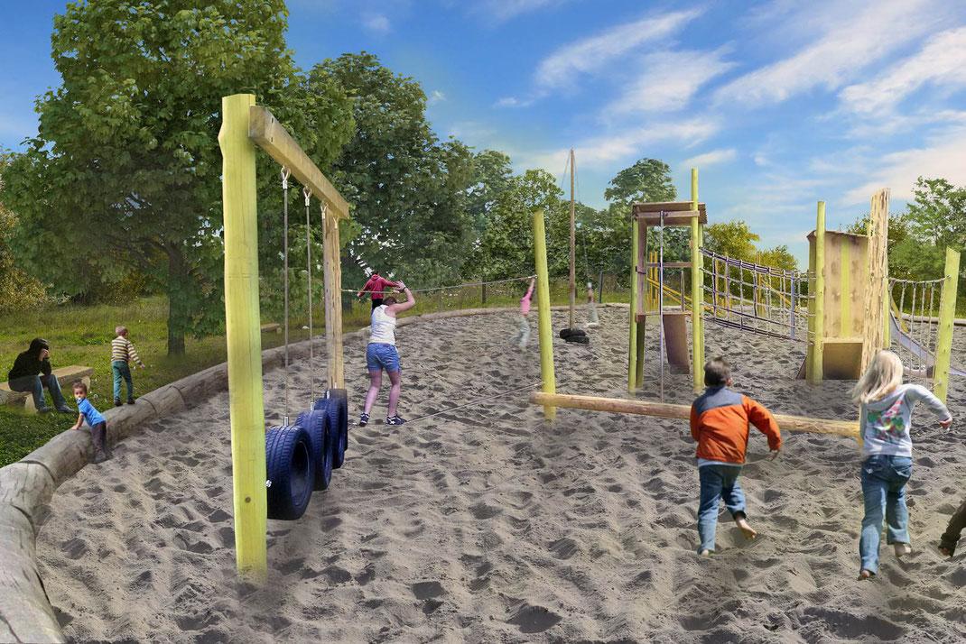 Parco giochi in sabbia per Venezia