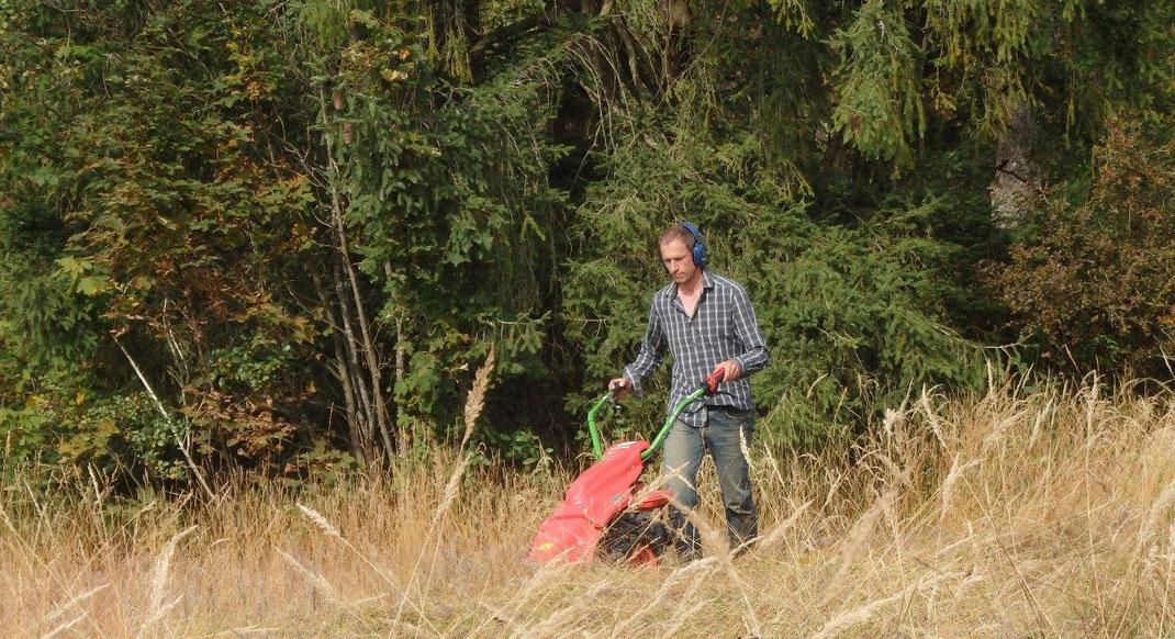 Biotoppflege im Landkreis Miesbach
