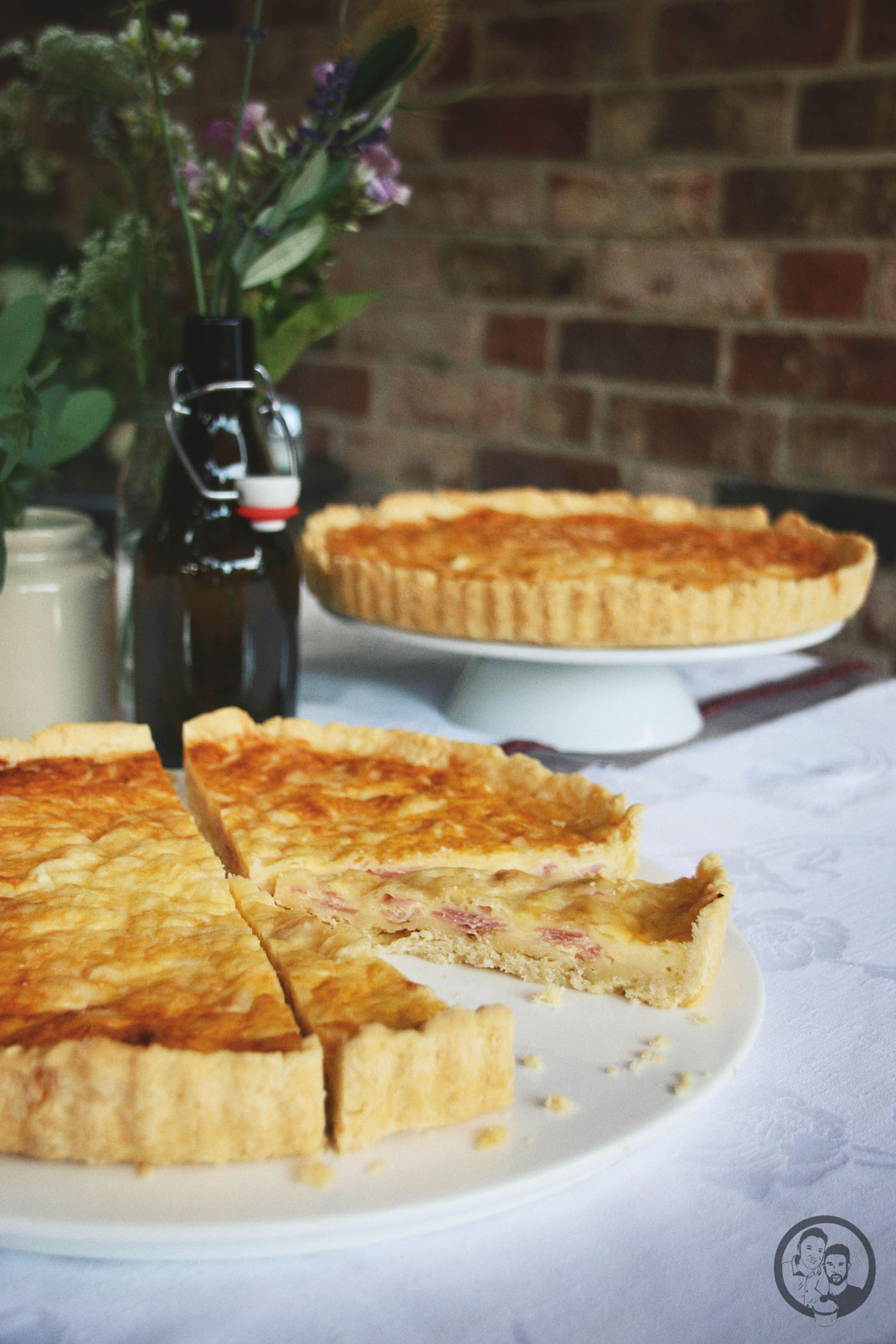 Prosciutto Quiche_Backen_herzhaftes Buffet_Backen