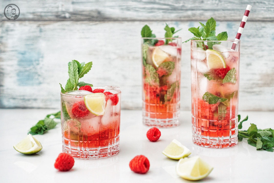 Raspberry_Ginger_Mojito_drinks_rum_himbeere_ingwer