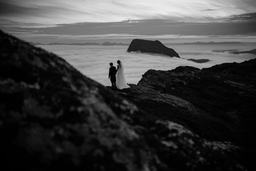 Hochzeit elopement braut braid Groom