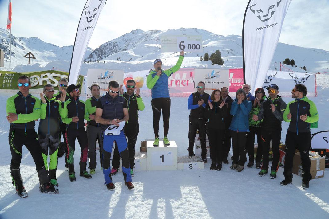 6000 Euro konnten wir an die Südtiroler Krebshilfe spenden, DANK aller Teilnehmer