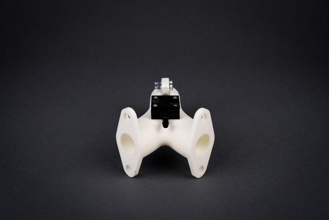 System für individuell gefertigte Schlauchanschlüsse