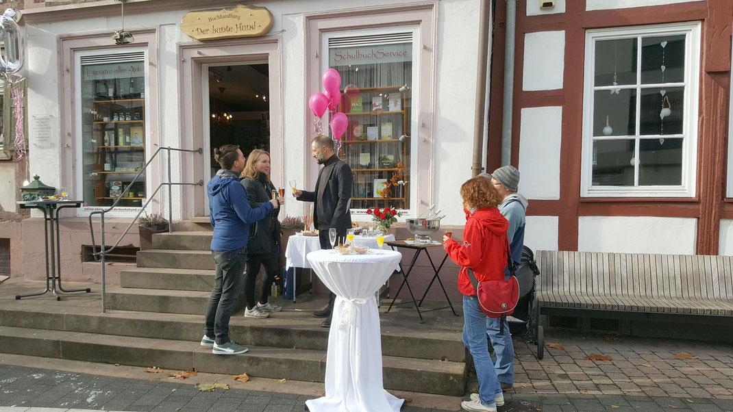 10 Jahre Der bunte Hund in Otterberg, Glückwunsch