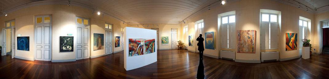 Exposition Hotel de Ville Saint-Denis de la Réunion - Jean-Claude Le Gall artiste peintre