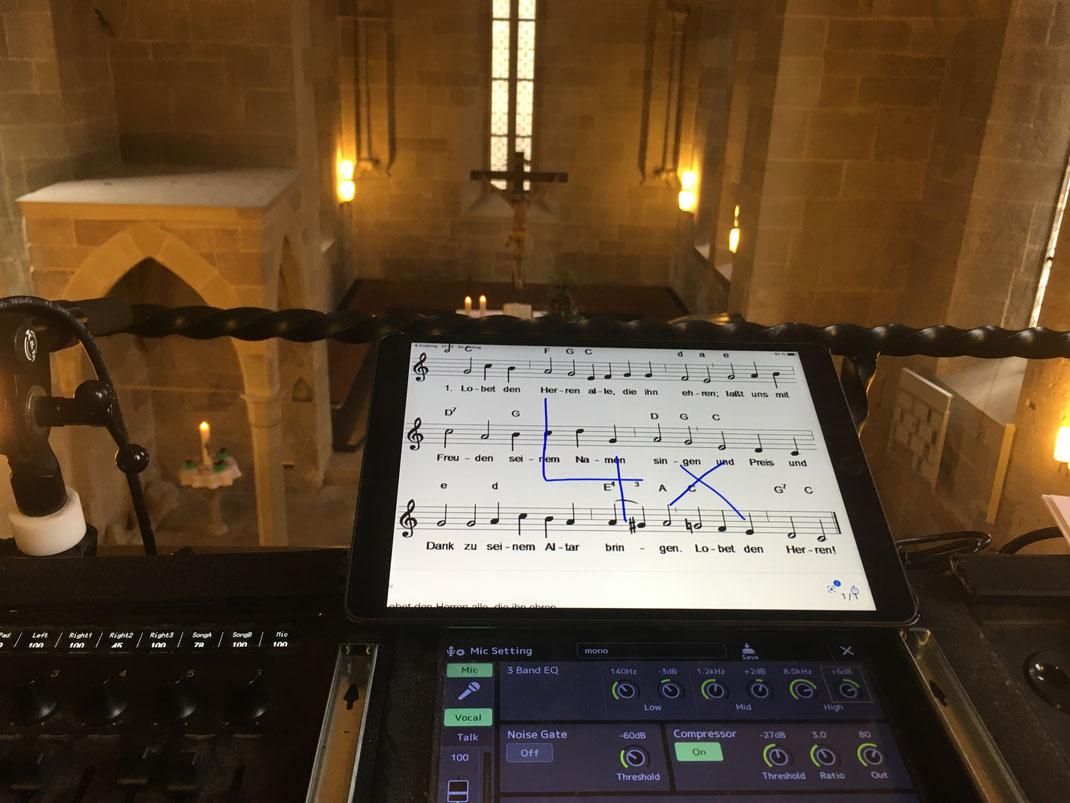 Als Musiker zur Trauungszeremonie