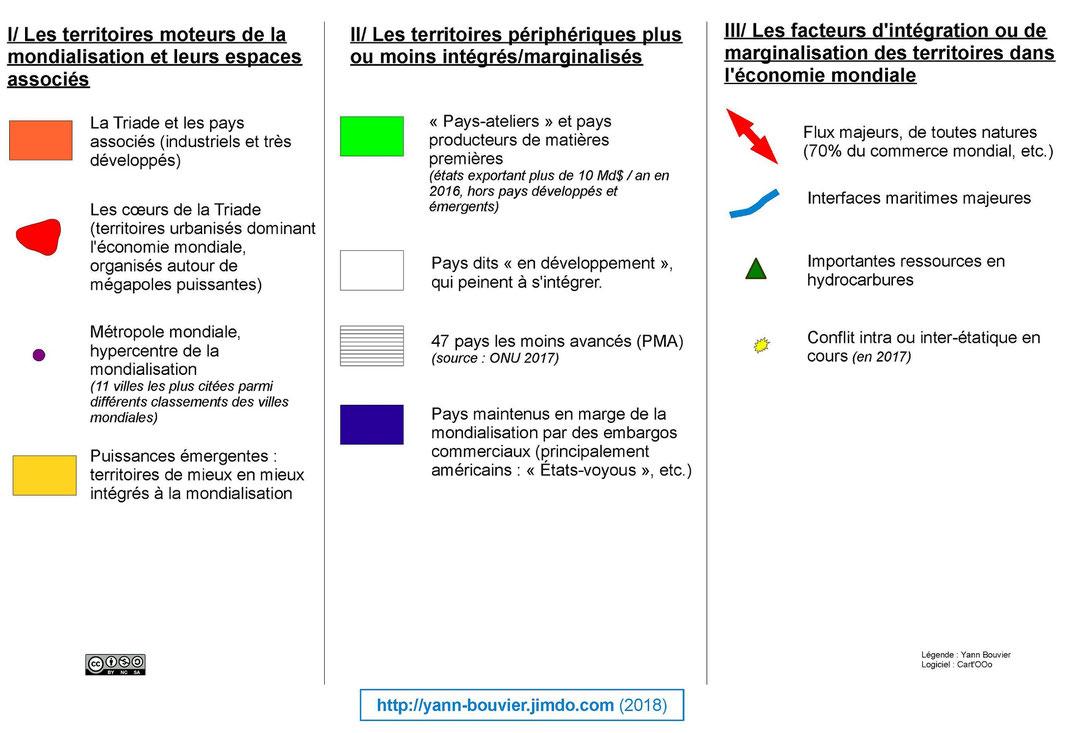 CROQUIS BAC (Term.) - L'inégale intégration des territoires ...