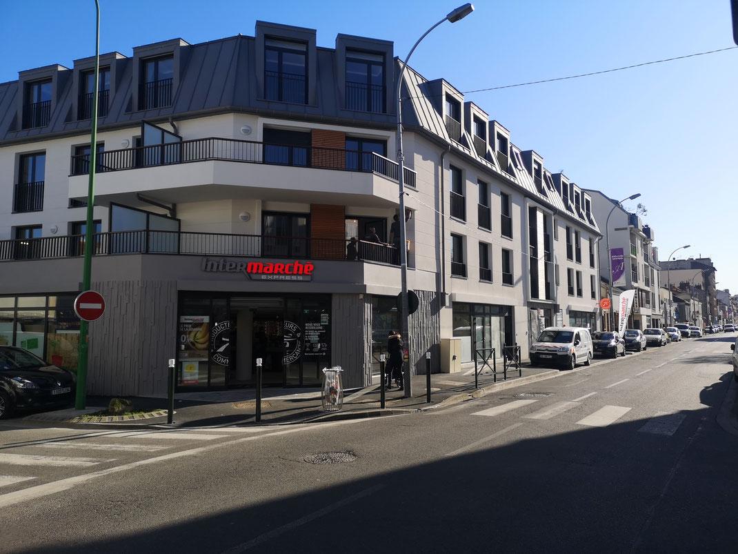 Rue Paul Vaillant Couturier - Perspective PXXL