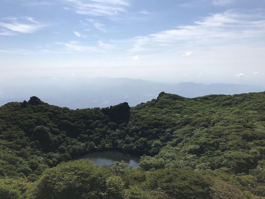 大船山の御池