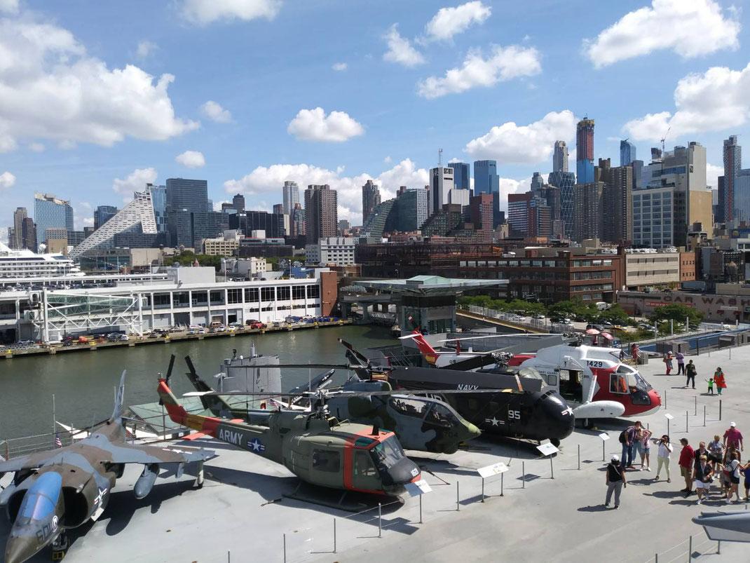 ニューヨークの航空博物館