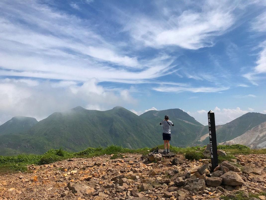 三俣山西峰