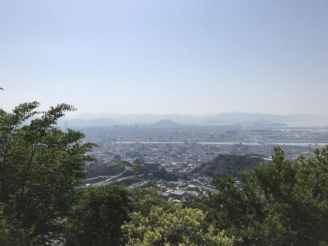 八畳岩からの眺め
