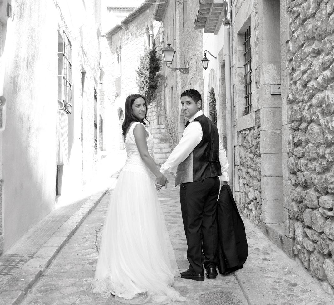 Vestit de núvia: l'Armari d'Eco/ Model: Cristina Trigueros