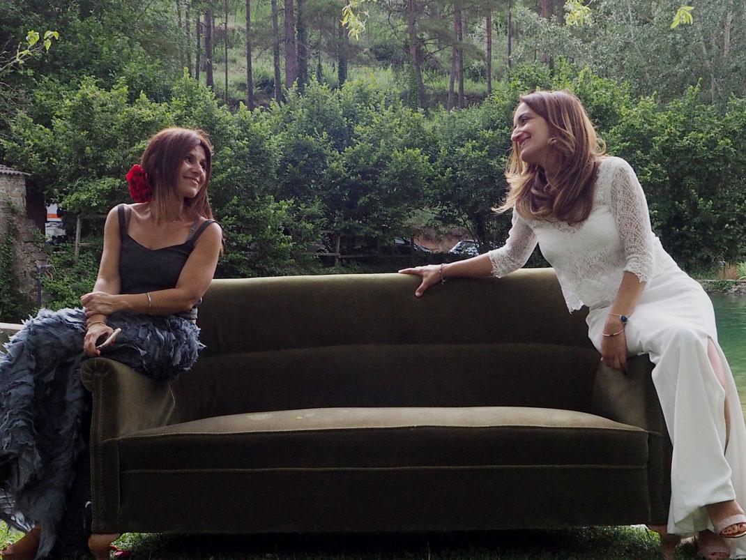Vestits: l'Armari d'Eco. Models: Susanna Rovira i Elena Prieto