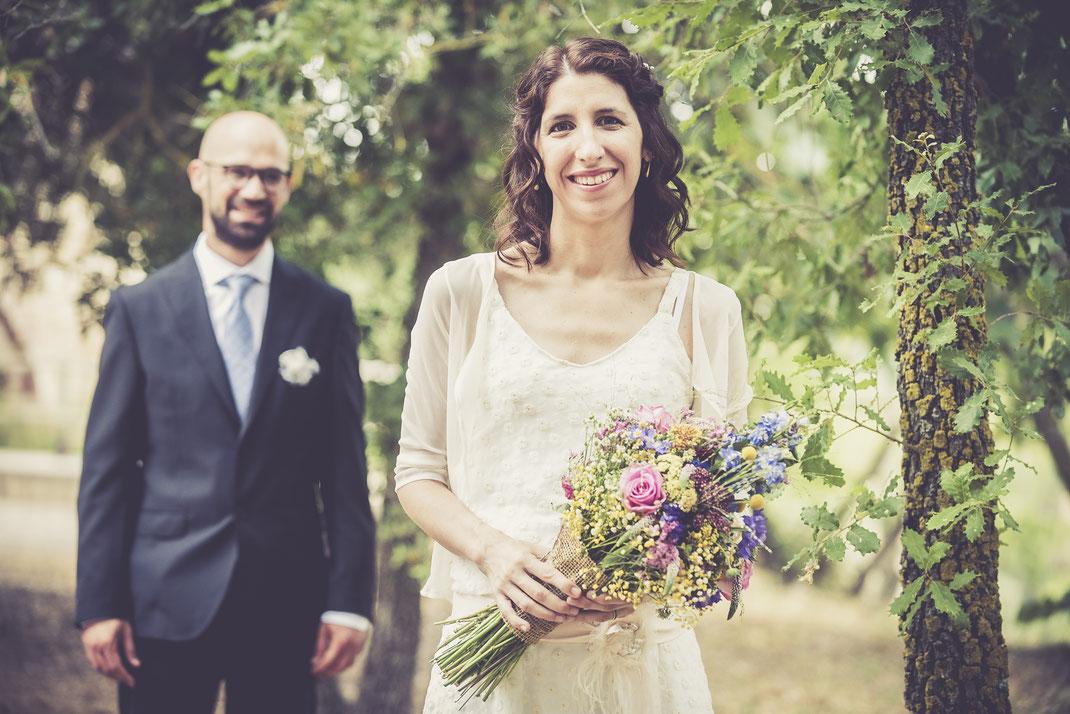Vestit de núvia: l'Armari d'Eco/ Model: Núria Soldevila/ Fotografia: Oriol Segon