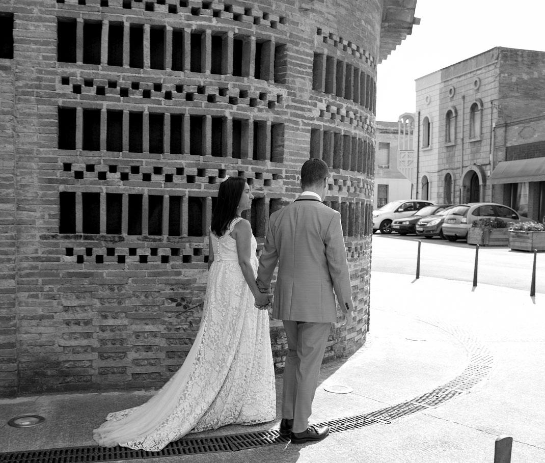 Vestit de núvia: l'Armari d'Eco/ Model: Jessica Trigueros