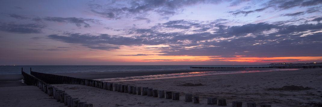 Meer, Sonnenuntergang