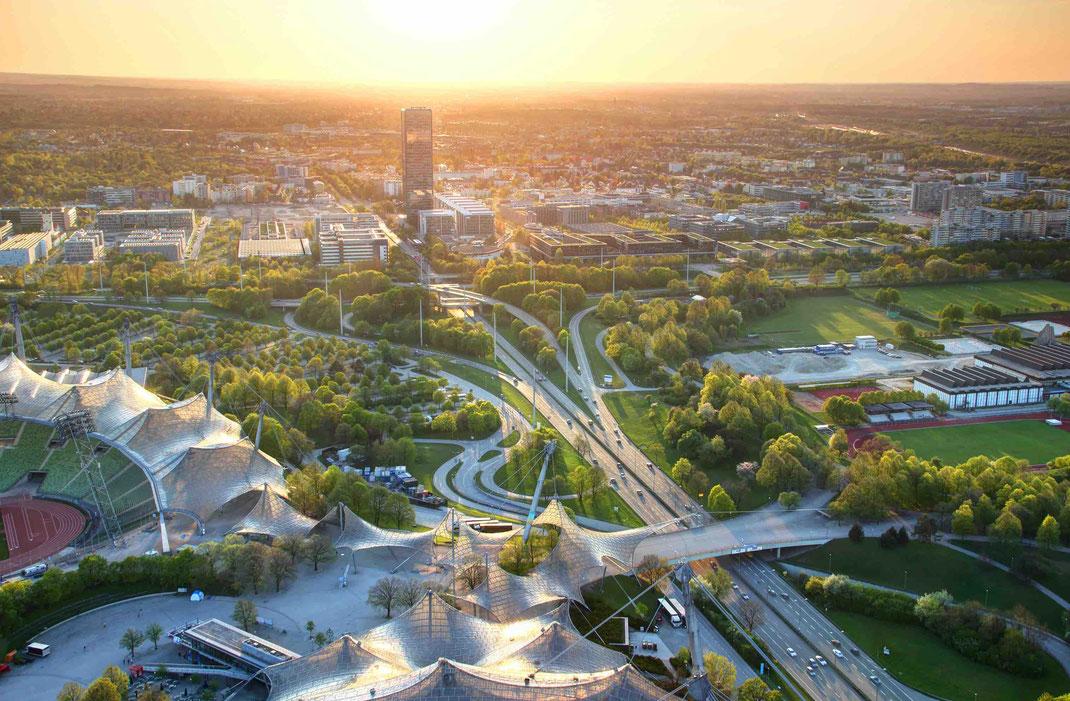München Infrastruktur bindet jeder Stadtteil optimal