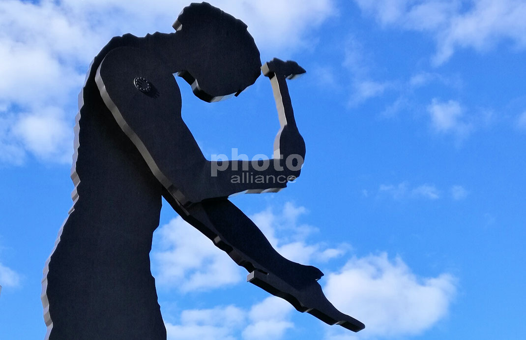 Hammering Man © rheinmainbild.de/Klaus Leitzbach