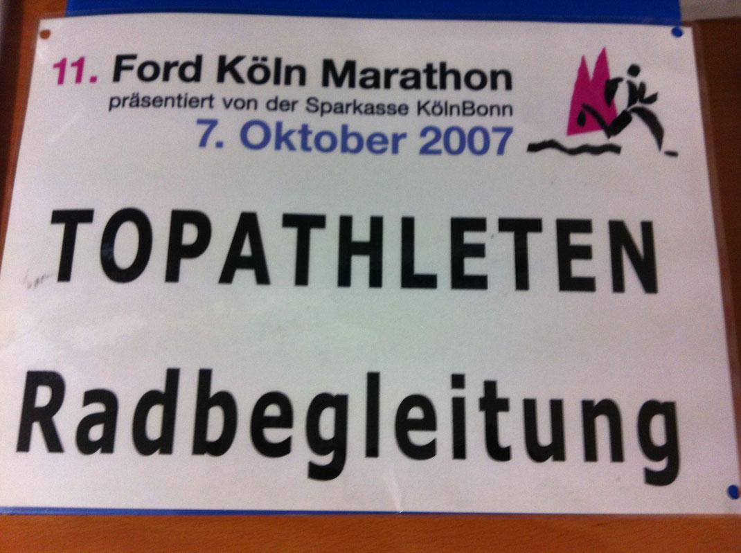Marathon-Betreuung