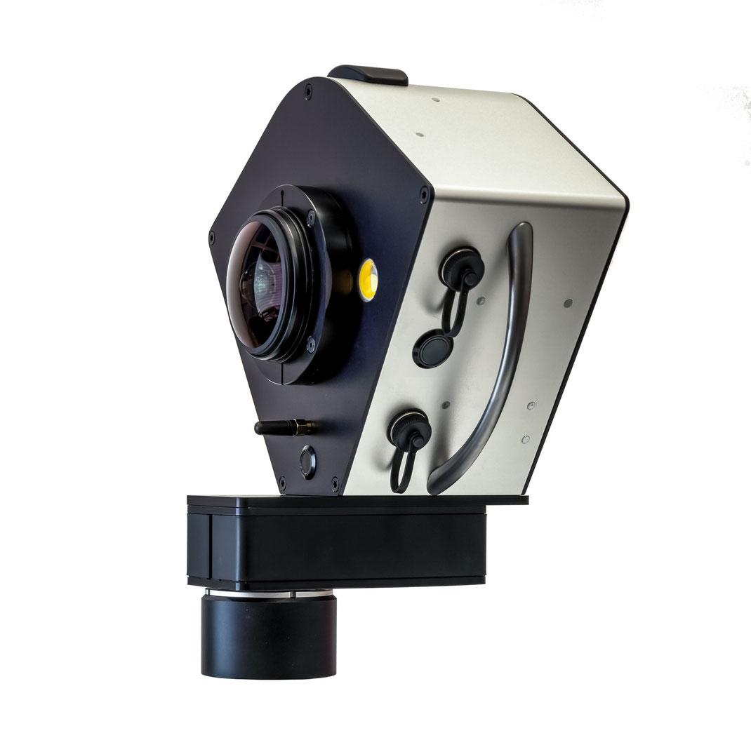 Civetta 360° e-series with 230 MPixel one-click operation