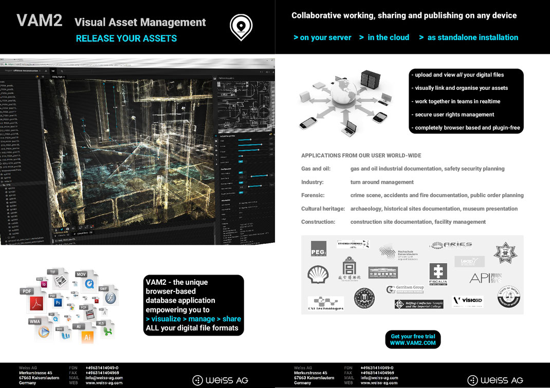 VAM2 Visual Asset Management Brochure free download
