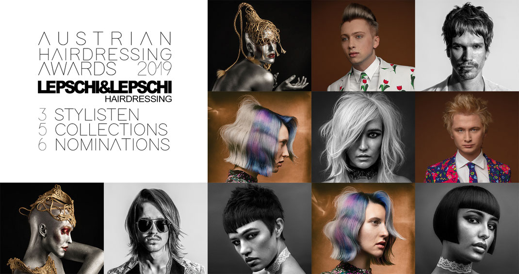 Lepschi&Lepschi Hairdressing Linz nominiert für die Austrian Hairdressing Awards 2019